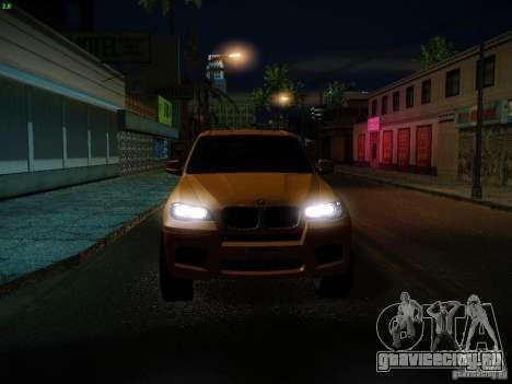 BMW X5M 2011 для GTA San Andreas салон