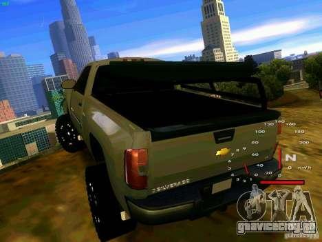 Chevrolet Silverado Final для GTA San Andreas вид сзади слева