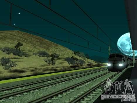Высокоскоростная ЖД линия для GTA San Andreas шестой скриншот