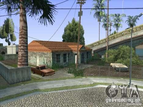 Grove Street Retextured для GTA San Andreas девятый скриншот