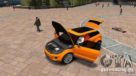 Range Rover LRX 2010 для GTA 4 вид сзади