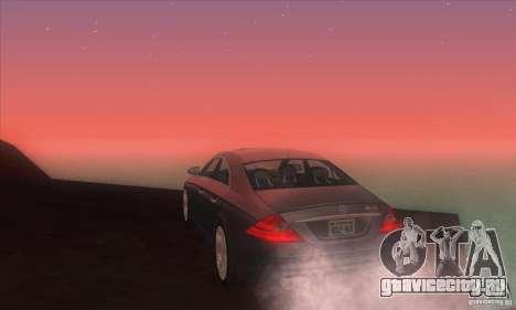 Mercedes-Benz CLS AMG для GTA San Andreas вид сзади слева