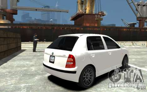 Skoda Fabia для GTA 4 вид справа