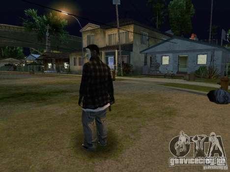 Новый Grove Анонимус для GTA San Andreas третий скриншот
