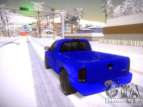 Dodge Ram SRT-10 для GTA San Andreas вид слева