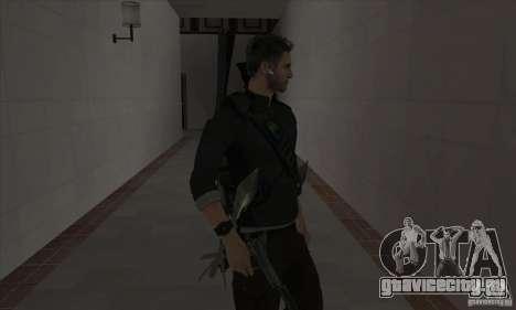 Sam Fisher для GTA San Andreas третий скриншот