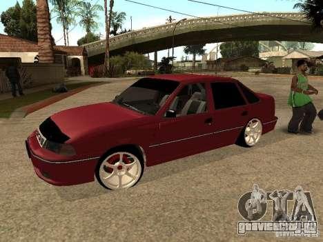 Daewoo Nexia для GTA San Andreas вид сверху