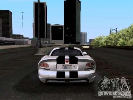 Dodge Viper SRT-10 Custom для GTA San Andreas вид справа