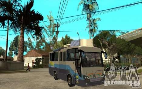 Hino Evo C для GTA San Andreas вид сзади