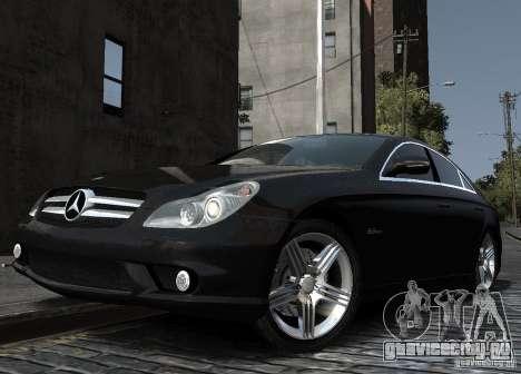 Mercedes-Benz CLS 63 AMG для GTA 4 вид справа