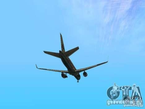 Boeing 757-200 American Airlines для GTA San Andreas вид сбоку