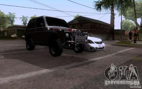 ВАЗ 21213 Нива Драг для GTA San Andreas вид сзади слева