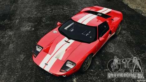 Ford GT 2005 v1.0 для GTA 4 вид сверху