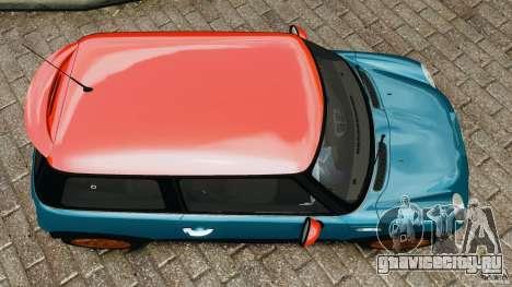 Mini Cooper S v1.3 для GTA 4 вид справа