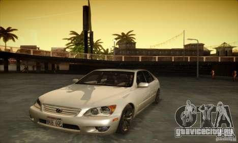 Lexus IS 300 для GTA San Andreas