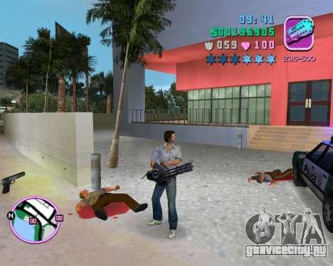 Серая рубашка для GTA Vice City шестой скриншот