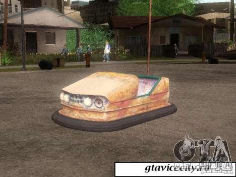 Аттракционная машина для GTA San Andreas вид слева