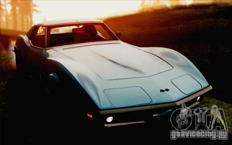 Chevrolet Corvette C3 Stingray T-Top 1969 для GTA San Andreas