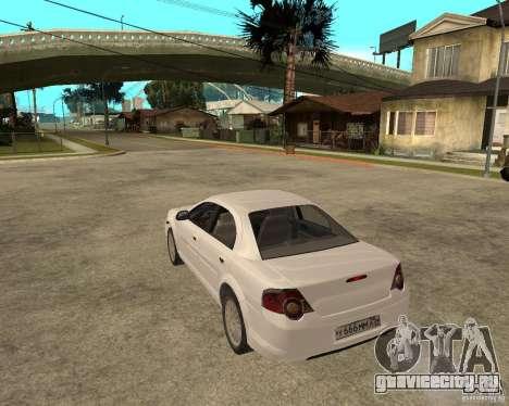 ГАЗ Volga Siber 2.5 AT для GTA San Andreas вид слева