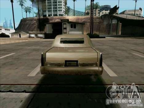 Короткий Лимузин для GTA San Andreas вид справа