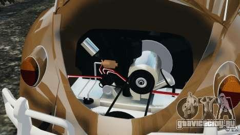 Volkswagen Fusca Gran Luxo v2.0 для GTA 4 вид снизу