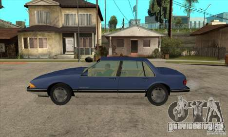 Pontiac Bonneville 1989 для GTA San Andreas вид слева