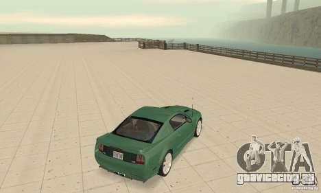 Saleen S281 v2 для GTA San Andreas вид сзади слева