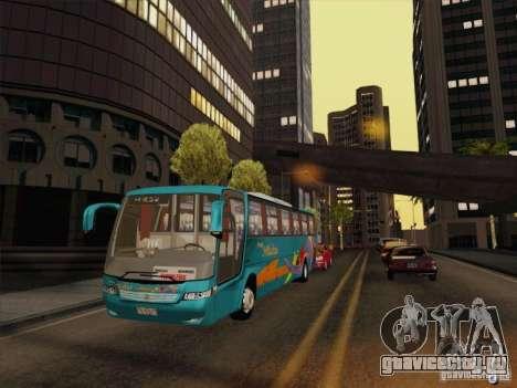 Mercedes-Benz Vissta Buss LO для GTA San Andreas вид сбоку