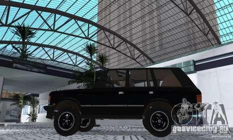 Range Rover County Classic 1990 для GTA San Andreas вид справа