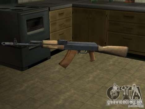 AK-74 из Arma II для GTA San Andreas