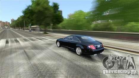 Mercedes-Benz CL65 AMG v1.5 для GTA 4 вид сзади