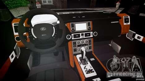 Land Rover Discovery 4 2011 для GTA 4 вид справа