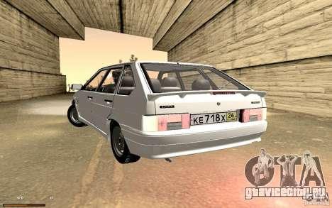 ВАЗ 2114 Quality для GTA San Andreas вид сбоку