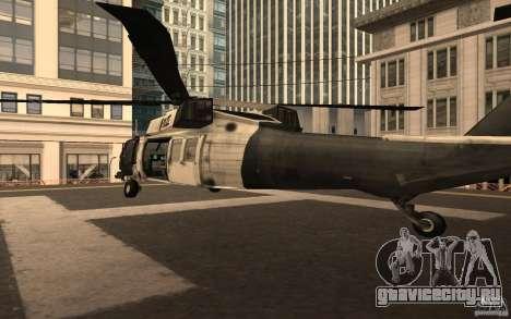 Black Hawk from BO2 для GTA San Andreas