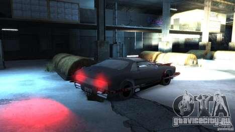 Apocalyptic Mustang Concept (Beta) для GTA 4 вид справа