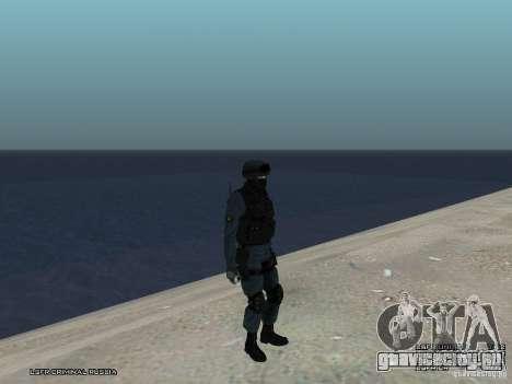 Сотрудник ОМОН для GTA San Andreas восьмой скриншот