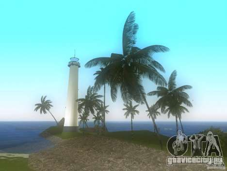 Vice City Real palms v1.1 Corrected для GTA Vice City третий скриншот