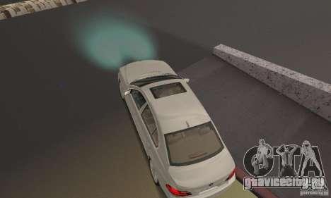 Неоновый цвет фар для GTA San Andreas