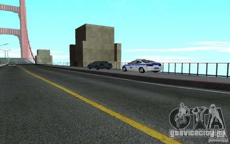 Police на мосту Сан-Фиеро_v.2 для GTA San Andreas третий скриншот