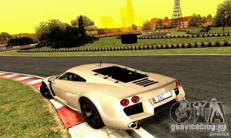 Noble M600 2010 V1.0 для GTA San Andreas вид сбоку