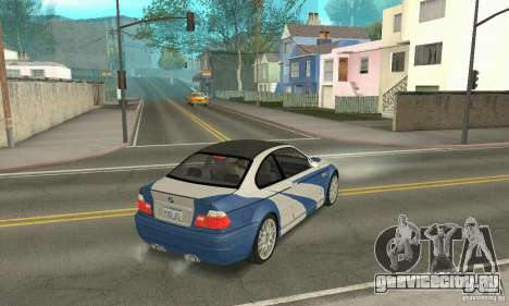 BMW M3 Tunable для GTA San Andreas вид сбоку