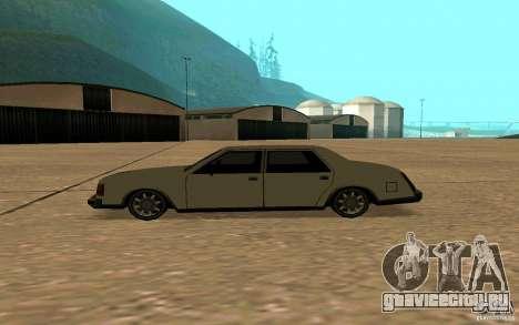 FBI Washington для GTA San Andreas вид слева