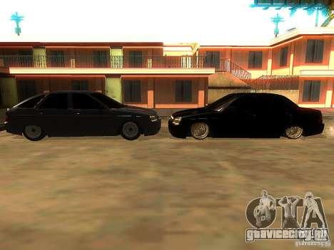 Lada Priora Dag Style для GTA San Andreas салон