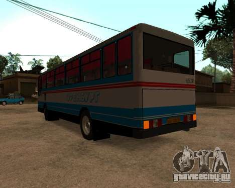 Autosan H10-11B full Orenburg stickers для GTA San Andreas вид сзади слева