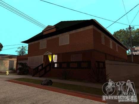 Дом CJ по русски для GTA San Andreas третий скриншот