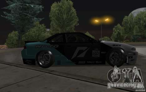 Nissan S14 Matt Powers 2012 для GTA San Andreas вид снизу