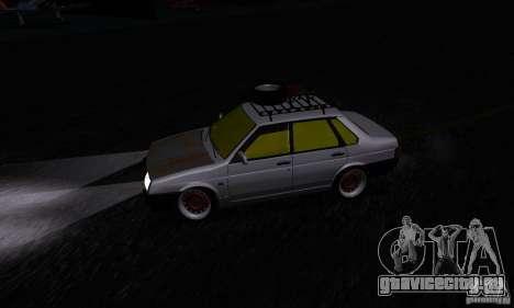 ВАЗ 21099 Rat Look для GTA San Andreas вид сзади