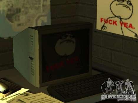 Бар FUCK YEA для GTA San Andreas шестой скриншот
