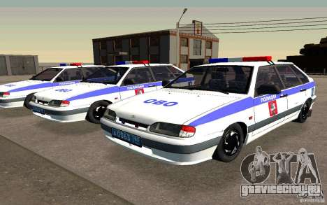 Ваз 2114 ОВО Полиция для GTA San Andreas