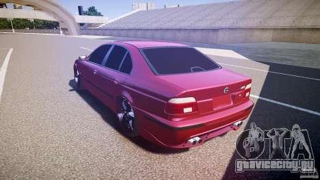 BMW M5 E39 Hamann [Beta] для GTA 4 вид сзади слева